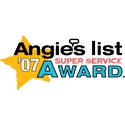 Angie's List Super Service Award 2007