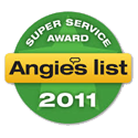 Angie's List Super Service Award 2011